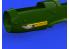 Eduard kit d'amelioration avion brassin 648583 Messerschmitt Bf 109G Eberspächer acoustic pipes Eduard 1/48