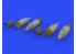 Eduard kit d'amelioration hélicoptère brassin 648574 Lance roquettes UB-32A-24 1/48