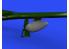 Eduard kit d'amelioration avion brassin 648571 Réservoirs largables 75gal P-51D Eduard 1/48