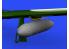 Eduard kit d'amelioration avion brassin 648572 Réservoirs largables 108gal P-51D Eduard 1/48