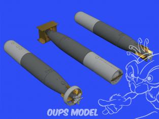 Eduard kit d'amelioration brassin 672245 Torpilles Mk.13 US 1/72