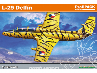 EDUARD maquette avion 7096 L-29 Delfin ProfiPack Edition 1/72