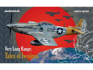 EDUARD maquette avion 11142 Very Long Range : Tales of Iwojima - P-51D Edition Limitee 1/48