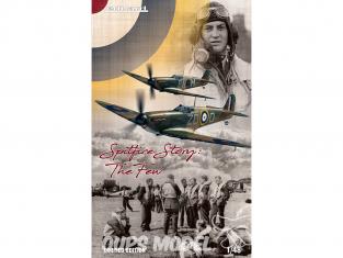 EDUARD maquette avion 11143 Spitfire Story : The Few - Spitfire Mk.I Dual Combo Edition Limitée 1/48