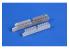 Cmk kit d'amelioration Q48367 Reggiane Re 2005 Echappements pour Special Hobby kits 1/48