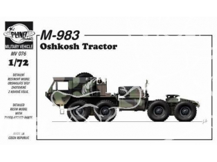 Planet Maquettes Militaire mv076 M-983 Oshkosh Flak full resine kit 1/72