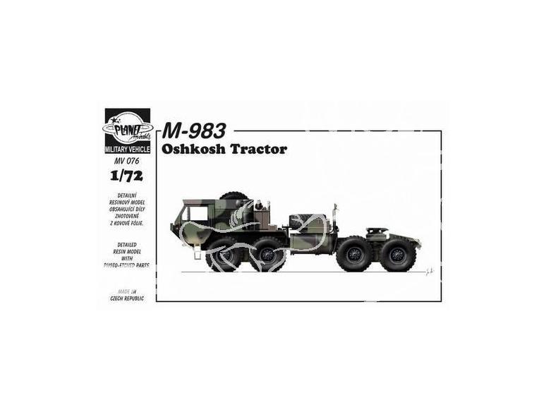 Planet Maquettes Militaire mv076 M-983 Oshkosh Flak full resine kit 1/72