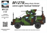 Planet Maquettes Militaire mv123 M1278 Heavy Guns Carrier Joint Light Tactical Vehicle full resine kit 1/72