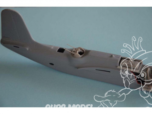 Cmk kit d'amelioration 7427 Tourelle de canon A-20G / H / K / J Havoc / Boston Mk.IV / V pour kit special hobby 1/72