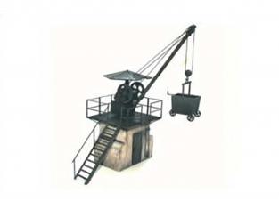 Planet Maquettes Militaire mv080 Grue à charbon DR full resine kit 1/72