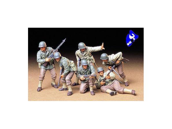 tamiya maquette militaire 35192 Infanterie d&39assault US 1/35