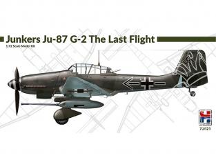 Hobby 2000 maquette avion 72021 Junkers Ju 87 G-2 Dernier vol 1/72