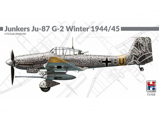 Hobby 2000 maquette avion 72022 Junkers Ju 87 G-2 Hiver 1944/45 1/72