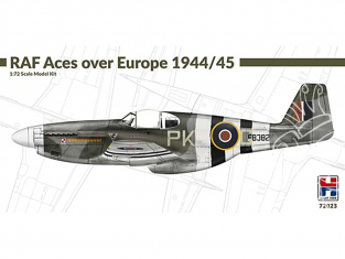 Hobby 2000 maquette avion 72023 RAF Aces over Europe 1944/45 North American Mustang Mk.III 1/72
