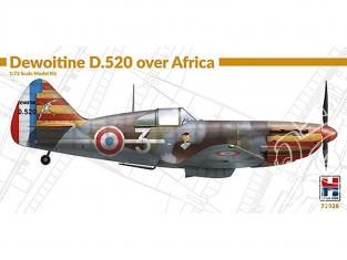 Hobby 2000 maquette avion 72026 Dewoitine D.520 Au-dessus de l'Afrique 1/72