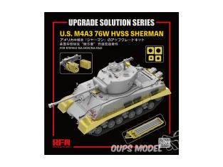 Rye Field Model maquette militaire 2002 Set amélioration U.S. M4A3 76W HVSS Sherman 1/35