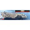 Hasegawa maquette bateau 30063 JMSDF DDH Kaga destroyer porte helicoptére version limitée 1/700