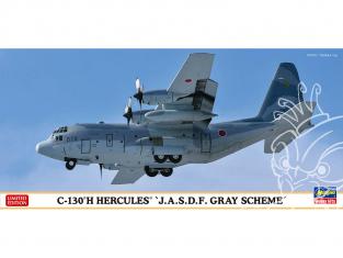 HASEGAWA maquette avion 10835 C-130H Hercules JMSDF 1/200