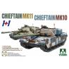 Takom maquette militaire 5006 Chieftain Mk11 + Chieftain Mk10 1/72