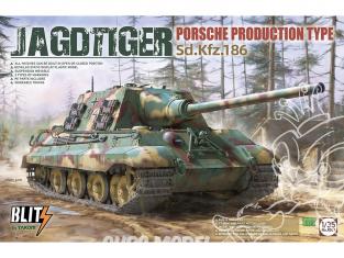 Takom maquette militaire 8003 Jagdtiger Porsche production type Sd.Kfz.186 1/35