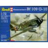 revell maquette avion 4160 bf109 1/72