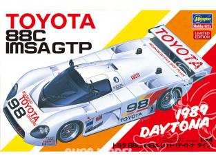 Hasegawa maquette voiture 20442 Toyota 88C IMSA GTP type Daytona 1/24