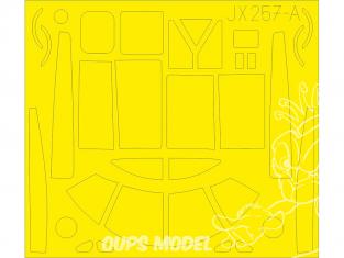 Eduard Express Mask JX257 A-26B Invader TFace Hobby Boss 1/32
