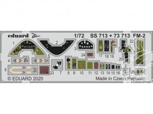 Eduard photodecoupe avion SS713 Zoom amélioration FM-2 Arma Hobby 1/72