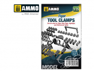 Ammo Mig accessoire 8080 Tigre tool clamps 1/35
