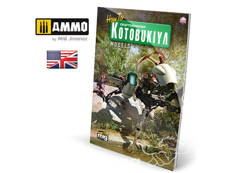 MIG Librairie 6113 Comment Crasftsmanship Kotobukiya en Anglais