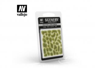 Vallejo Touffe sauvage SC417 Vert clair hauteur de l'herbe 6mm