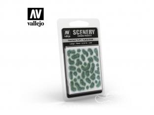 Vallejo Touffe fantaisie SC432 Turquoise hauteur de l'herbe 6mm