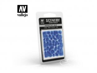 Vallejo Touffe fantaisie SC434 Bleu hauteur de l'herbe 6mm