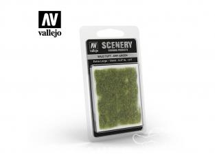 Vallejo Touffe sauvage SC424 Vert sec hauteur de l'herbe 12mm