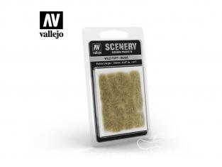 Vallejo Touffe sauvage SC429 Beige hauteur de l'herbe 12mm