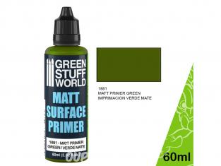 Green Stuff 502473 Primaire Vert Mat 60ml
