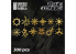 Green Stuff 504699 Runes et Symboles Chaos