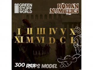 Green Stuff 504729 Chiffres Romains