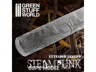 Green Stuff 505498 Rouleaux texturés STEAMPUNK