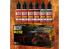 Green Stuff 506259 Set Pigments Liquides Rouille 6 x 17ml