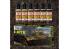 Green Stuff 506273 Set Pigments Liquides Terre 6 x 17ml