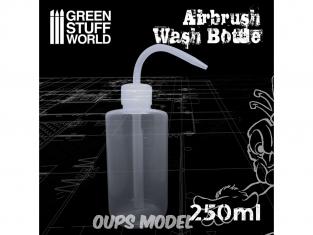 Green Stuff 506655 Flacon de Nettoyage pour Aerographe 250ml