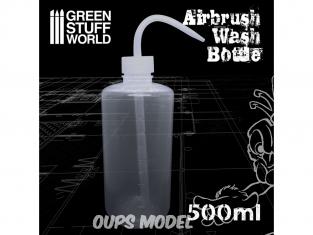 Green Stuff 506662 Flacon de Nettoyage pour Aerographe 500ml