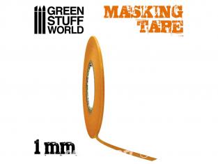 Green Stuff 507416 Ruban de Masquage 1mm