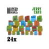 Green Stuff 507218 24 Jerrycans en Résine 1/35 et 1/48