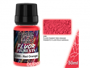 Green Stuff 507287 Pigment FLUOR ROUGE ORANGE 30ml