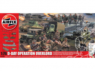 Airfix maquette avion 50162a Diorama D-Day Operation Overlord Set 1/76