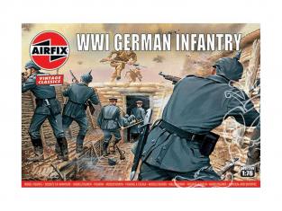 Airfix maquette militaire A00726V Vintage Classics Infanterie Allemande WWI 1/76