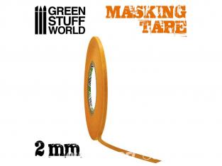 Green Stuff 505016 Ruban de Masquage 2mm