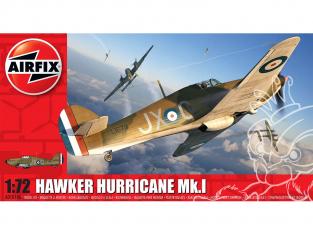 Airfix maquette avion A01010a Hawker Hurricane MkI 1/72